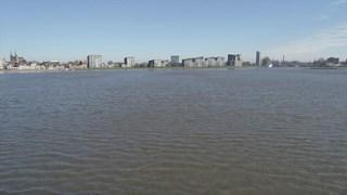 Hoogwater bij Deventer
