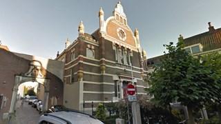 De synagoge aan de Golstraat