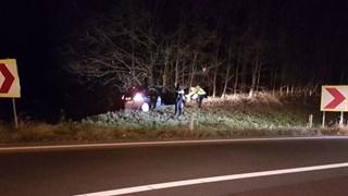 Ongeluk tussen A1 en A35