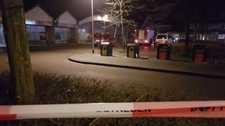 De Albert Heijn in Delden afgelopen nacht