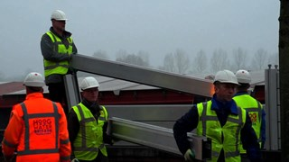 Waterkering bij Kampen weer afgebroken