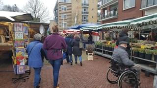 De markt in Nijverdal
