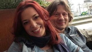 Chris van der Wilk en haar partner Harm Dinkla