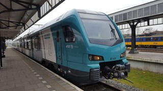 Eerste directe trein van Hengelo naar Bielefeld alsnog vertrokken