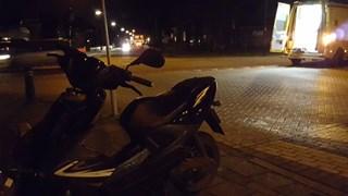 Scooterrijder gewond in Enter