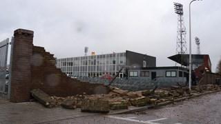 Statenfracties PvdA en ChristenUnie op de bres voor herstel 'stormmuur' Go Ahead Eagles