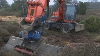 Een project voor de zandbij op de Lemelerberg
