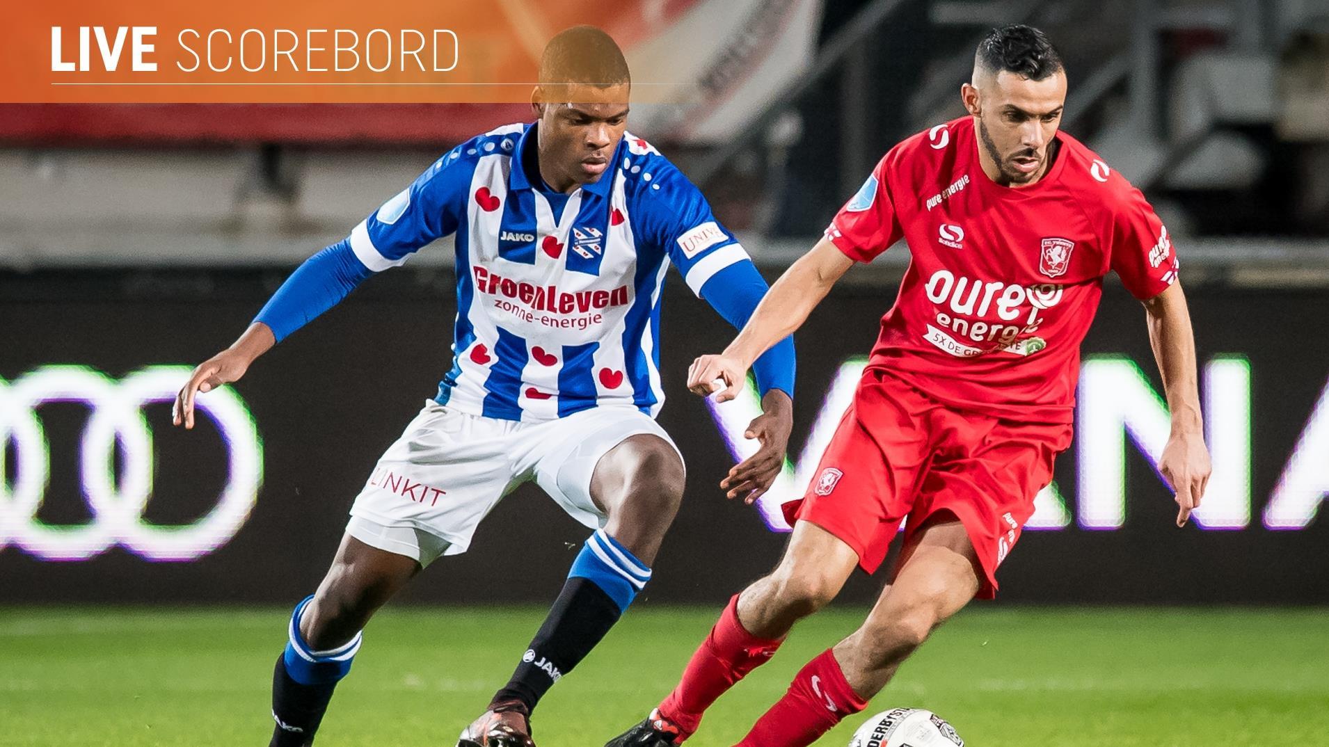 Live: FC Twente op bezoek bij Heerenveen, PEC tegen PSV en Heracles ontvangt ADO