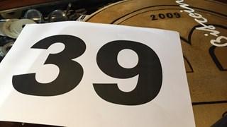 Het startnummer van de Twentse Carnavalsoptocht in Oldenzaal