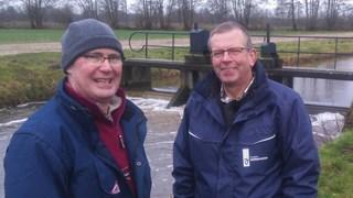Bert de Wilde (l)  en Gerdrik Bruins zijn blij met de samenwerking.