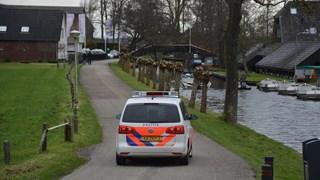Zoektocht naar vermiste Duitser in Giethoorn