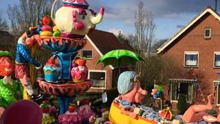 De praalwagen van Oranjewijk Tubbergen