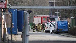 Brandweer druk bij Ten Cate in Nijverdal vanwege geknapte leidin