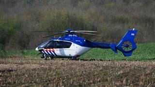 Wakker van de politiehelikopter boven Overdinkel, politie zoekt nog steeds naar drietal
