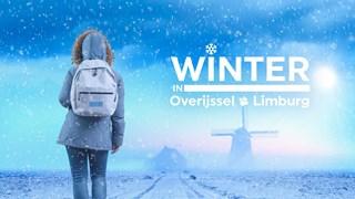 Winter in Overijssel en Limburg