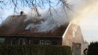 Woningbrand in Harbrinkhoek