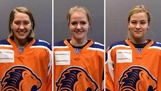 IJshockeysters Zoë, Roxy en Stevie hielden de Twentse eer hoog in Oranje U18