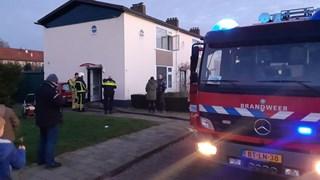 Brandje op bovenverdiepng in Almelo