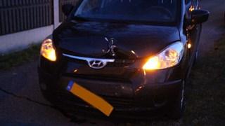 Auto beschadigd