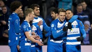 PEC Zwolle viert de 2-0 van Youness Namli