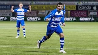 Saymak viert zijn treffer tegen SC Heerenveen