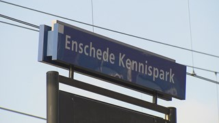 Man beroofd bij station Enschede Kennispark