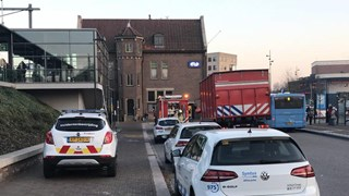 Brand op station in Deventer