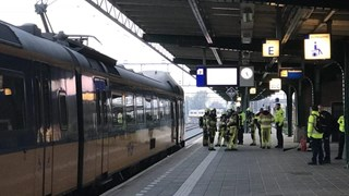 Brandje in trein snel geblust