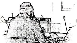 Mathias J. in de rechtszaal Zwolle