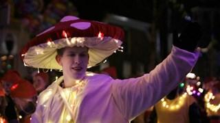 Verlicht carnaval in Hengelo