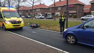 Vrouw gewond bij botsing in Enschede