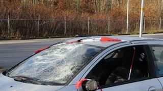Auto vernield in Holten