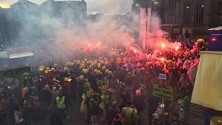 C.V. De Siepeljonkers grote winnaar Twentse Carnavalsoptocht in Oldenzaal