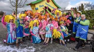 De carnavalsoptocht in Heeten 2018