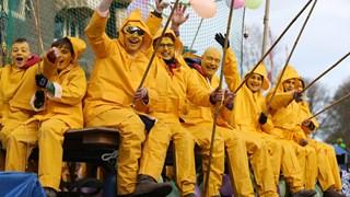 De carnavalsoptocht in Boekelo 2018