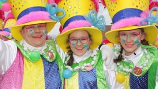 De carnavalsoptocht in Geesteren 2018