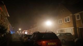 Brand in een woning aan de Gieterijstraat in Deventer, bewoner kon ontsnappen