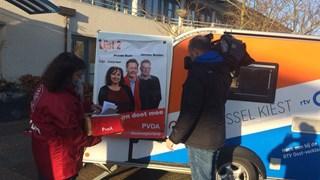 RTV Oost-verkiezingskaravaan in Steenwijkerland