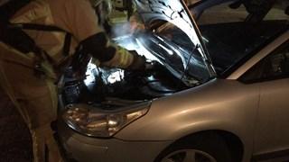 Autobrand in Almelo