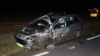 Wonder boven wonder raakte niemand gewond bij het ongeluk