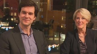wethouders Thomas Walder en Anja van den Dolder