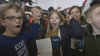 Vreugde op IJsbaan Twente na goud Jorien ter Mors