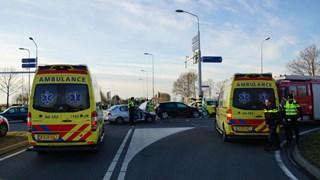 Drie gewonden bij ongeluk