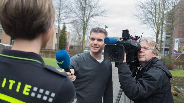 Werken in de media - journalist en cameraman - fotograaf: RTV Oost