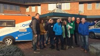 De RTV Oost Verkiezingskaravaan staat vandaag in Zwartewaterland