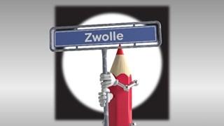 De Verkiezingskaravaan staat vandaag in Zwolle