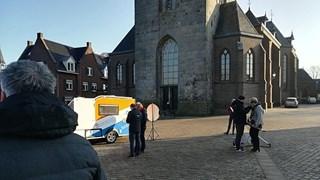 Verkiezingskaravaan op bezoek in CDA-bolwerk Tubbergen