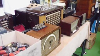 Radio- en elektronicabeurs in Deventer