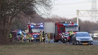 Ernstig ongeluk op A1