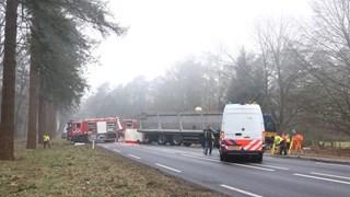 Dode bij ongeluk op N35 bij Haarle
